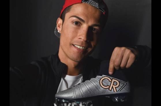 Cristiano Ronaldo mostró los chimpunes que usará ante Barcelona