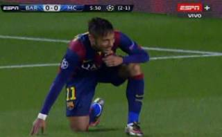Neymar estrelló en el palo lo que pudo ser un golazo