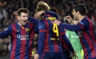 "Rakitic: ""Hasta el City disfrutó viendo jugar a Lionel Messi"""