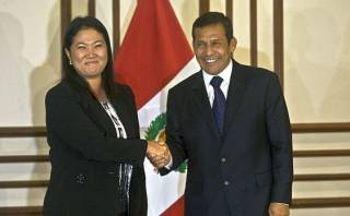 """Ollanta Humala criticó """"blindaje"""" a Keiko Fujimori en Congreso"""