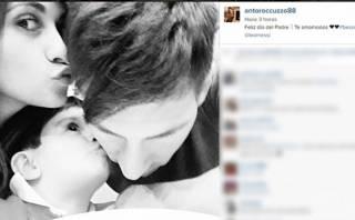 Messi y la tierna foto con su familia por el Día del Padre