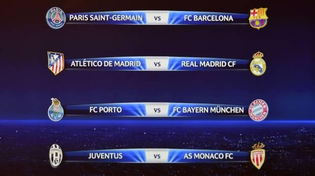 Champions league as 237 se jugar 225 n los cuartos de final