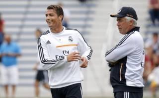 """Carlo Ancelotti: """"Cristiano Ronaldo me divierte más que Zidane"""""""