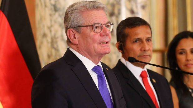 Presidente alemán llega a Perú interesado en temas de memoria