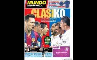 Barcelona vs. Real Madrid: así lo vive la prensa española