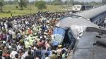 Accidente de tren en India deja 30 muertos y decenas de heridos - Noticias de accidente en chincha