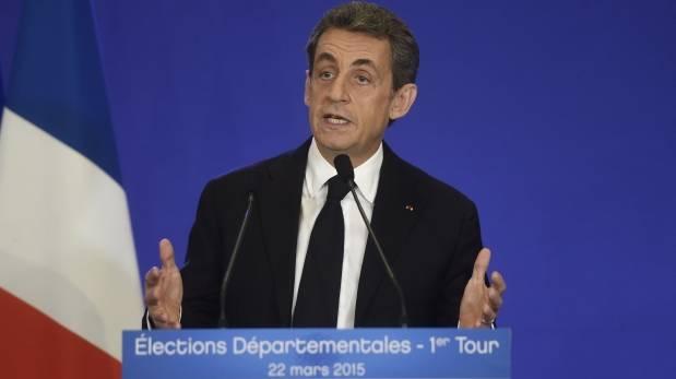 Francia: Partido de Sarkozy lidera elecciones departamentales