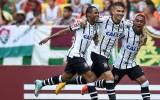 Paolo Guerrero anotó doblete en Corinthians y estira su récord