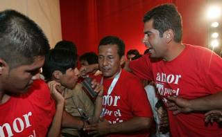 "Ollanta Humala a Belaunde Lossio: ""Soy leal al Estado peruano"""