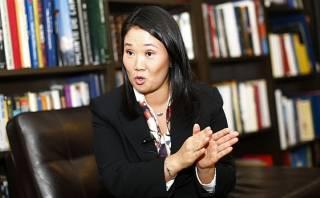 DINI: Keiko Fujimori le pide a Humala relevar a Jara de la PCM
