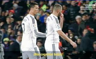 Cristiano Ronaldo y la crítica a sus compañeros en el clásico