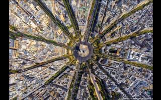 Lugares emblemáticos del mundo vistos desde el aire