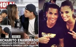 Chicharito es captado con mujer que vincularon con Cristiano