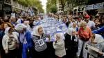 Argentina no olvida: Miles marchan a 39 años del golpe militar - Noticias de jorge rafael videla
