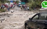 WhatsApp: huaicos retrasan tránsito en carretera Cañete-Chupaca
