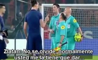 Zlatan: le negaron la pelota tras 'hat trick' y así reaccionó