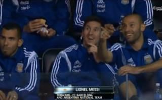 Lionel Messi fue a la NBA y recibió ovación del público (VIDEO)