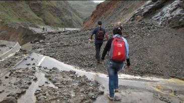 Yauyos: Cinco casas afectadas por caída de huaico