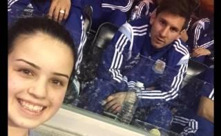 Messi en la NBA: la suerte de la joven que se sentó cerca de él