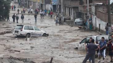 Santa Eulalia: distrito fue declarado en emergencia por huaicos