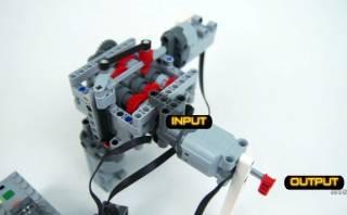 YouTube: Lego explica cómo funciona una caja de cambios