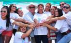 Famosos se juntaron en campaña de prevención contra el cáncer