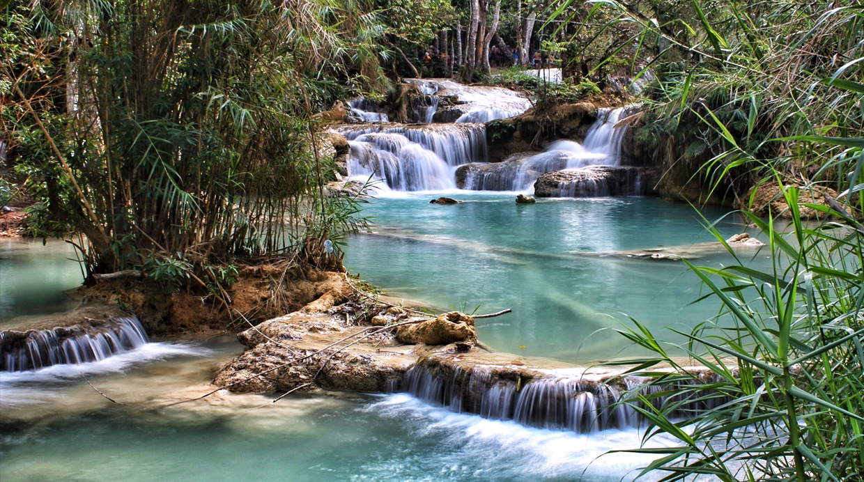 11 Consejos Para Fotografiar Impresionantes Cataratas Con: Agua Que Encanta: Conoce La Belleza De La Cascada Kuang Si