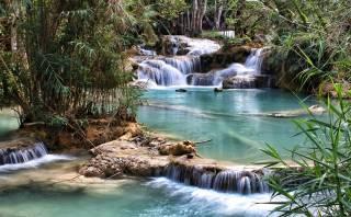 Agua que encanta: conoce la belleza de la cascada Kuang Si