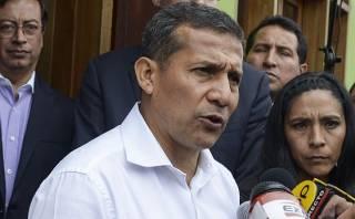 """Ollanta Humala: """"No hay confrontaciones con Mario Vargas Llosa"""""""