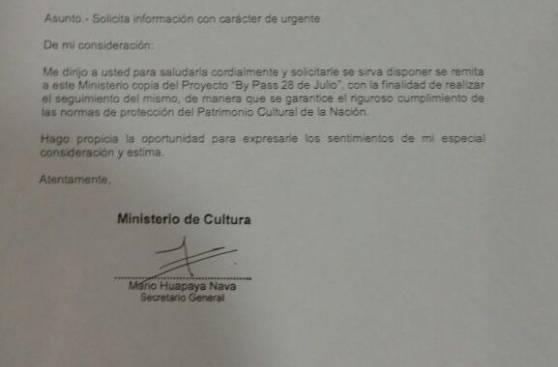 Cultura objeta nuevo by-pass porque no tiene su consentimiento