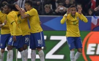 Brasil venció 3-1 a Francia en amistoso jugado en París (VIDEO)