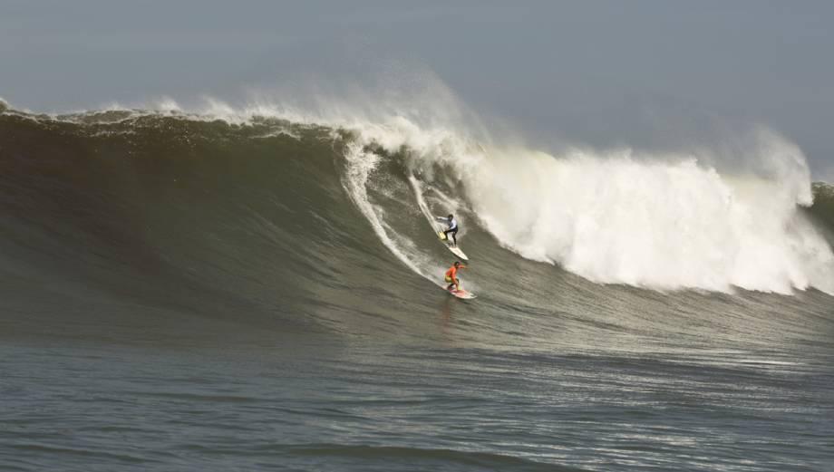 Pico Alto: olas gigantes en campeonato de ola grande