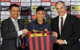Barcelona: presidente reveló que Vilanova pidió a Neymar