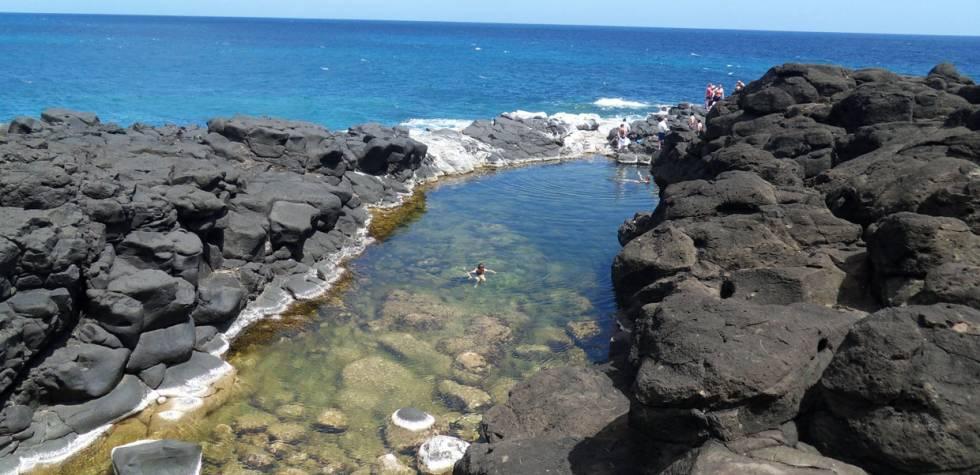 Este lugar está ubicado junto al mar de Hawái