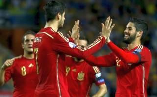 España derrotó 1-0 a Ucrania en duelo rumbo a la Eurocopa 2016