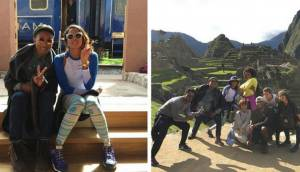 Pharrell Williams y su paso por Machu Picchu [FOTOS]
