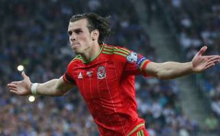 Gareth Bale anotó golazo de tiro libre con Gales (VIDEO)