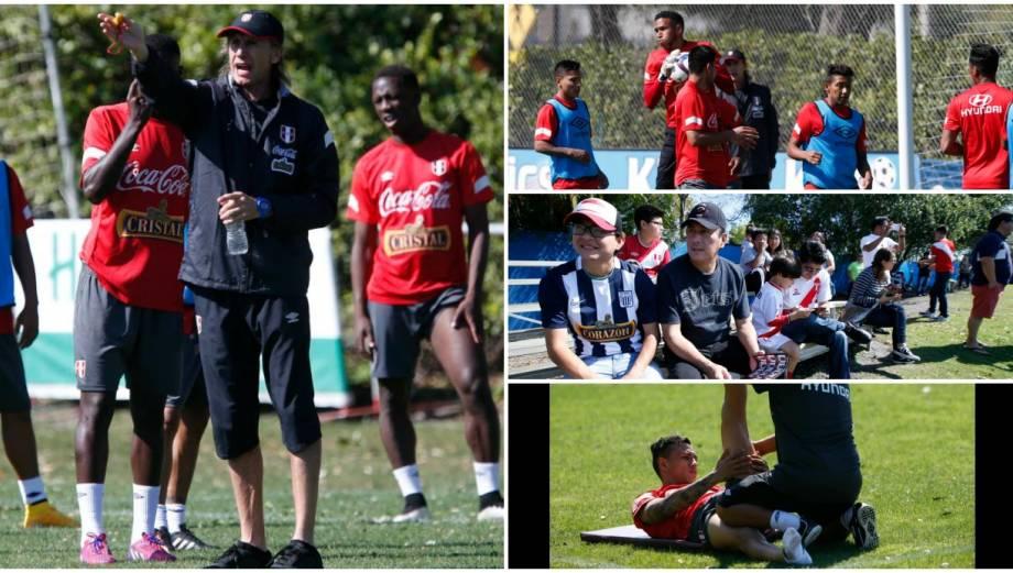 Perú vs. Venezuela: así fue el primer entrenamiento en Florida
