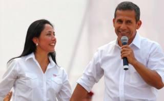 Sube aprobación de Ollanta Humala y Nadine Heredia, según GFK