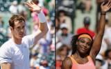 Andy Murray y Serena Williams avanzaron en el Masters de Miami