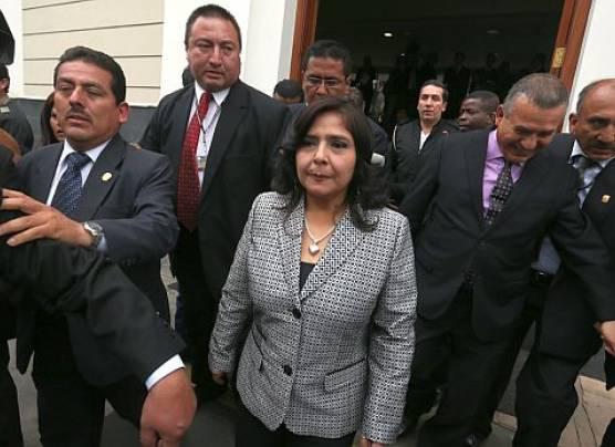 Ana Jara culpa a agentes de la DINI de filtración de documentos