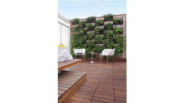 Aprende a integrar tus plantas en jardines verticales for Pockets jardin vertical