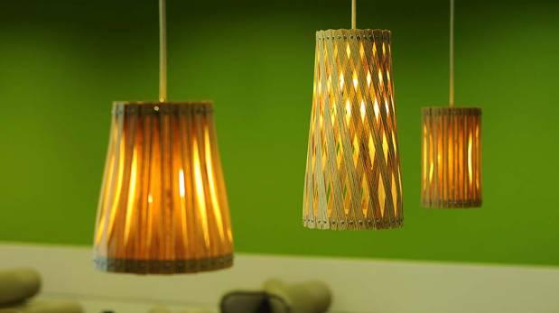 Estas lámparas recicladas le darán un toque único a tu casa ...