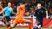 España vs. Holanda: chocan en partido amistoso en Ámsterdam