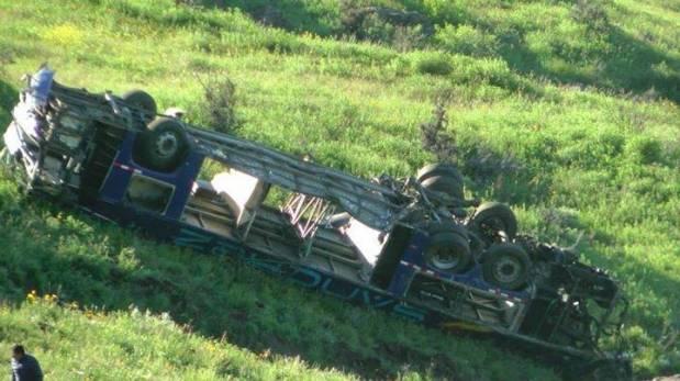 Accidente en vía Nasca - Puquio: a 19 aumentó cifra de muertos