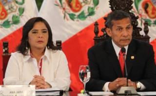 """Humala: """"Respaldo totalmente a Ana Jara"""" frente a censura"""