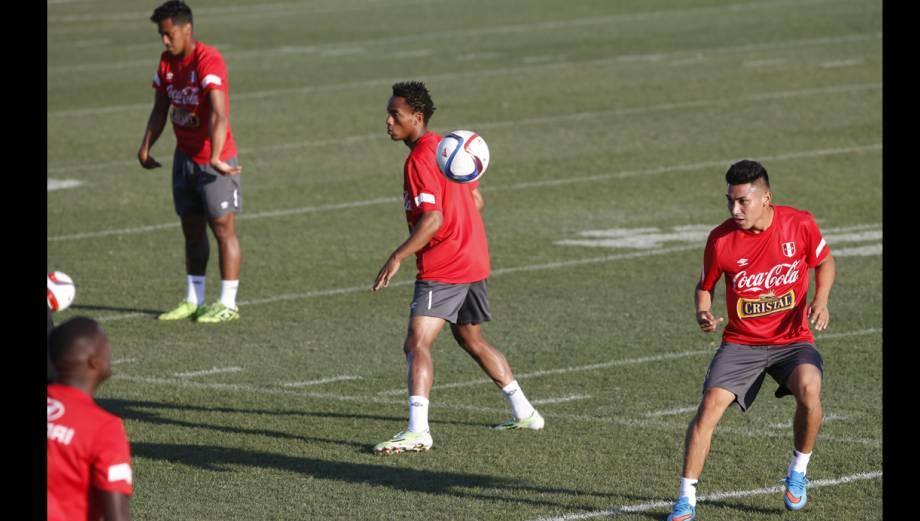 Selección peruana reconoció el Lockhart Stadium (FOTOS)