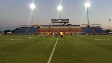 Venezuela hizo el reconocimiento del campo del Lockhart Stadium
