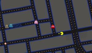 Google te permite jugar Pac-Man en su plataforma Maps