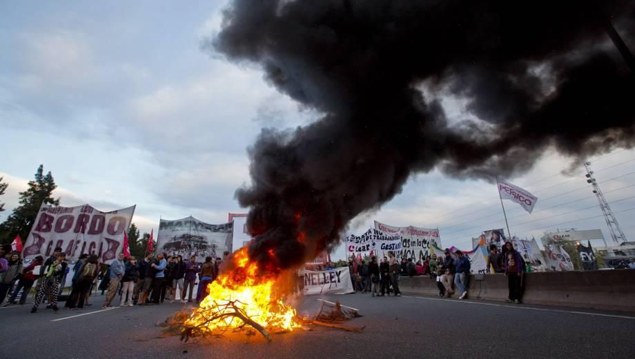 La huelga contra Cristina Fernández que ha paralizado Argentina